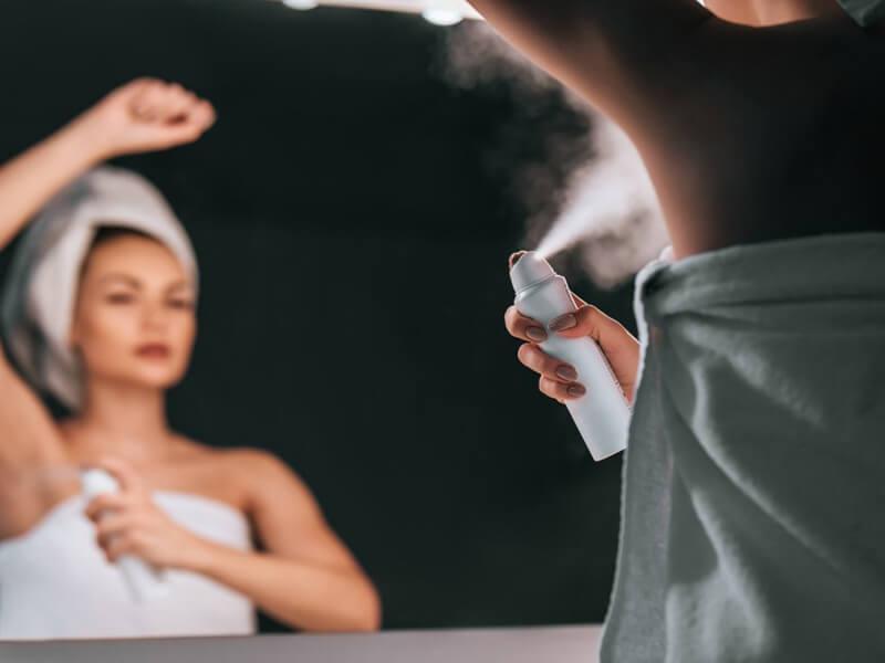 Deodorant ve Ter Önleyici Antiperspirantın Riskleri