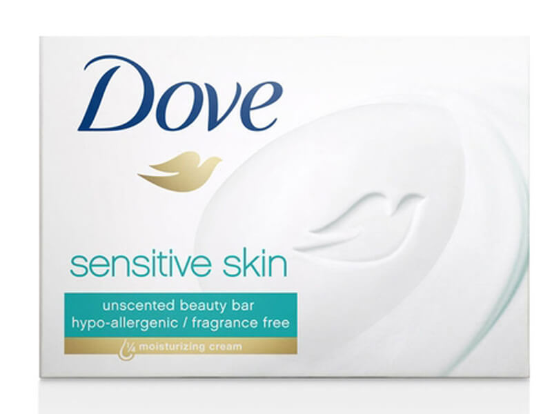 Dove Smoothing Care Beauty Bar for Sensitive Skin