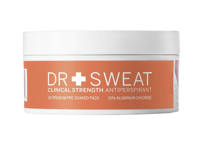 Dr. Sweat Antiperspirant Deodorant Pads