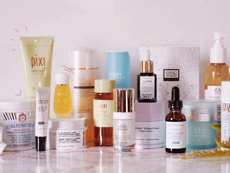 Saç ve cilt bakım ürünleri