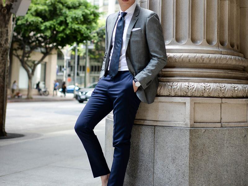 Slim Fit Takım Elbise Kombin