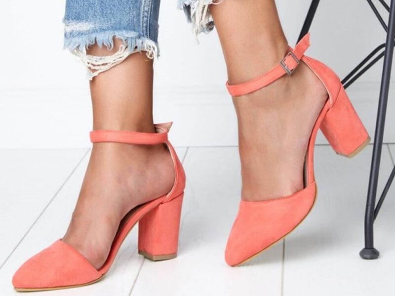 Yazlık Topuklu Ayakkabı Kombinleri