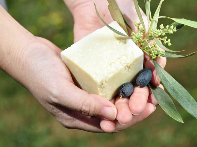 Zeytinyağlı Sabun Yapımı