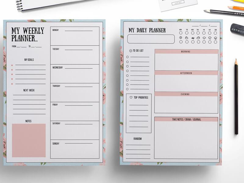 Günlük ya da Haftalık Planlar Hazırlayın